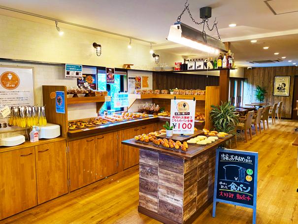 津の田ミート BAKERY CAFEの店舗写真